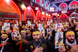 Pilgrims attend Arbaeen ceremony in Karbala