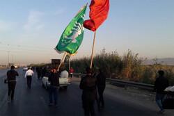 پیاده روی مردم قرچک و ورامین به سوی حرم حضرت عبدالعظیم حسنی(ع)