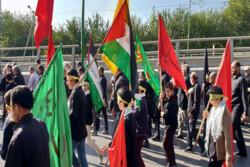 پیادهروی بزرگ جاماندگان اربعین در یزد برگزار شد