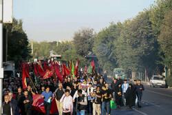 برگزاری راهپیمایی با دل آمدگان اربعین حسینی در کمال امنیت و آرامش