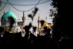مراسم عزاداری اربعین حسینی در مشهد