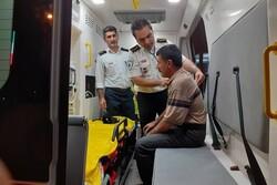 ارائه خدمات درمانی به بیش از ۳۴۰ زائر اربعین حسینی در ایلام