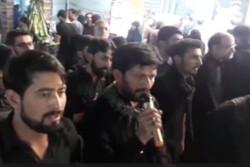عزاداری زائران پاکستانی