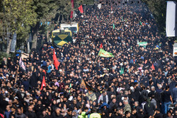 مشاهد من  مسيرة الأربعين في طهران /صور