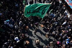 راهپیمایی جاماندگان اربعین در تهران - ۴