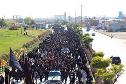 پیاده روی حرم تا حرم روز اربعین در اردبیل