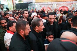 جهانگیری حرم امیرالمومنین(ع) را زیارت کرد/ حضور در مسجد کوفه