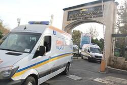 ۱۰ دستگاه آمبولانس ویژه اربعین به مرز خسروی اعزام شد