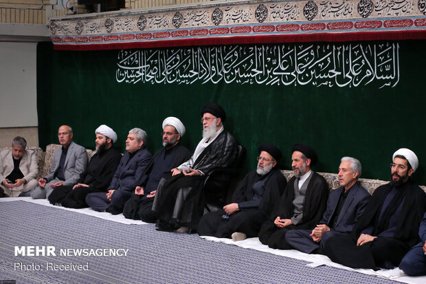 Arbaeen mourning at Tehran's Imam Khomeini Hussainia