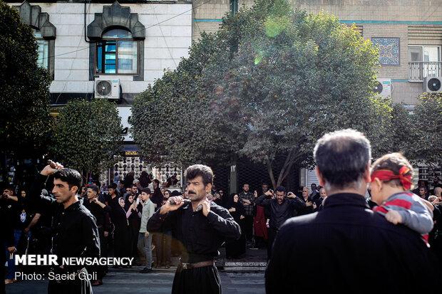 مراسم أربعينية الإمام الحسين في مشهد