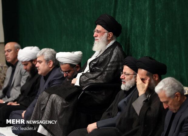 مراسم عزاء أربعينية الإمام الحسين من حسينية الإمام الخميني(ره) /صور