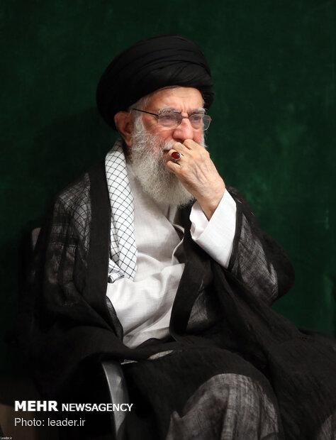 مراسم عزاداری اربعین حسینی در حسینیه امام خمینی(ره)