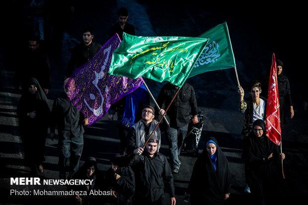 پیادهروی جاماندگان اربعین حسینی در بوشهر برگزار شد