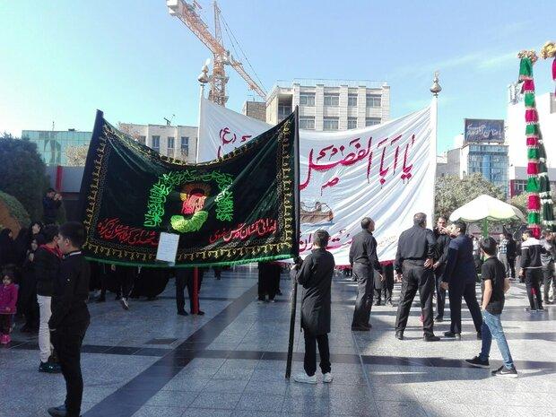 عزاداری زائران امام رضا(ع) در اربعین حسینی