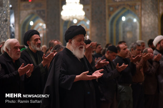 Arbaeen mourning ceremony observed in Mashhad