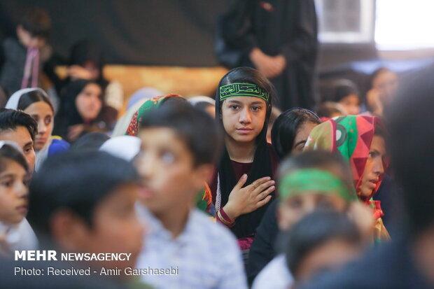 راهپیمایی کودکان اربعینی در کرج