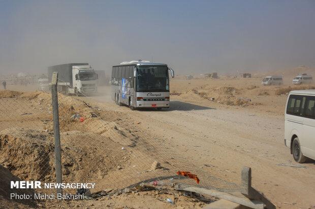 موج بازگشت زائران از مرز مهران