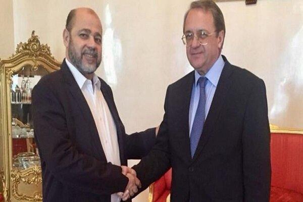 تماس بوگدانوف با نمایندگان فتح و حماس درباره مذاکرات استانبول