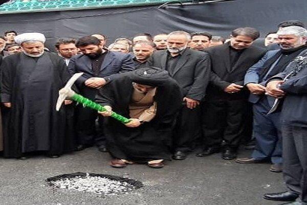 طرح توسعه بقعه «محمد بن خلیلان» در ارومیه کلنگ زنی شد