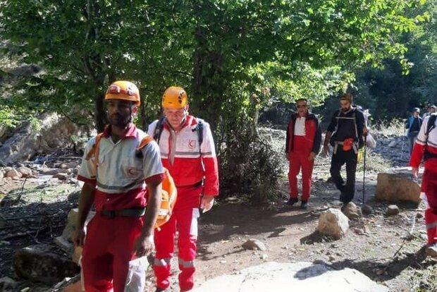 نجات گردشگران گمشده در ارتفاعات گلستان