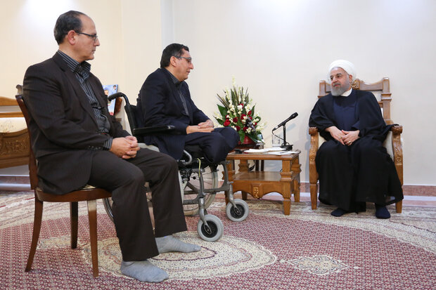 Iran has no choice but to continue resisting enemies' pressures: Rouhani
