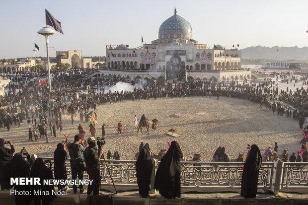 تعزیه خوانی روز اربعین در امامزاده شاه کرم اصفهان