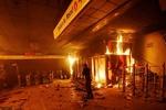حمله به ۱۶۴ ایستگاه مترو در پایتخت شیلی