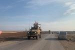 ورود کاروان نظامی آمریکا از عراق به سوریه