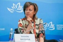 Eurasian Economic Union's Minister of Trade Veronika Nikishina