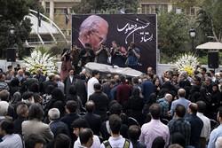 مرحوم حسین دہلوی کی تشییع جنازہ