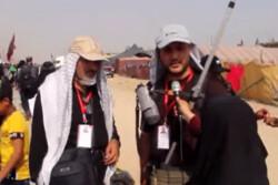 خدمات گروه های سیار پزشکی به زائران حسینی
