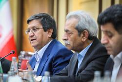 ہمتی سے ایرانی چیمبر آف کامرس کے نمائندوں کی ملاقات