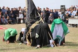 تعزیه در روستای زنگبار شهرستان گرمی استان اردبیل