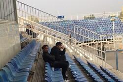 حضور خطیبی روی سکوهای ورزشگاه/ نکونام در تبریز تشویق شد