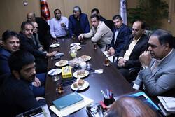 نشست مسئولان ورزش شهرداری تهران و فدراسیون کشتی برگزار شد