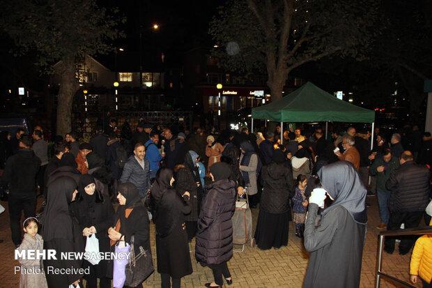 مراسم سوگواری اربعین امام حسین (ع) در لندن
