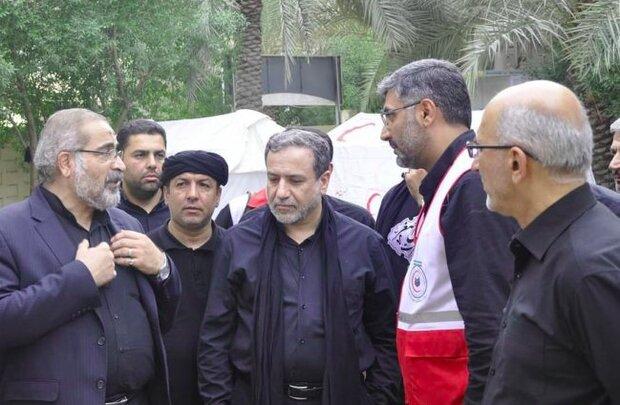 تقدیر عراقچی از اجرای طرح «بازپیوند خانواده» در کربلا