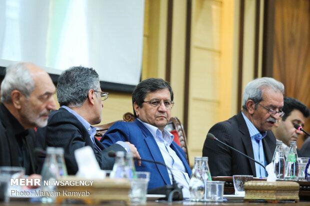 حضور رئیس بانک مرکزی در اتاق بازرگانی