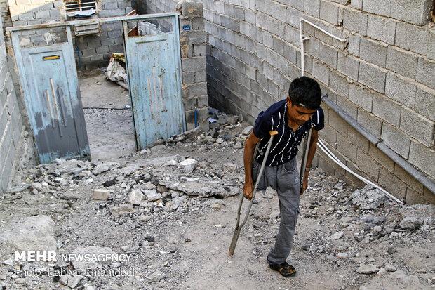 توزیع غذای نذری در روز اربعین در محله های محروم بندرعباس