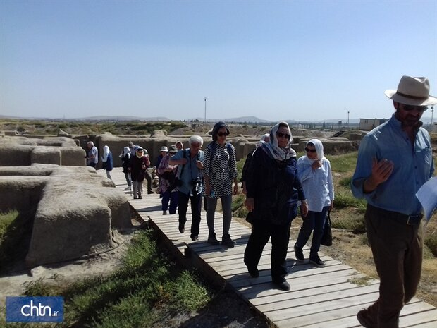 Foreign visits to millennia-old Hasanlu on the rise