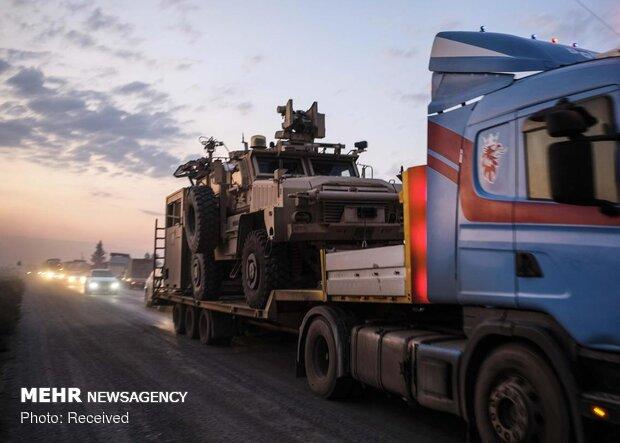 انسحاب القوات الامريكية من شمال سوريا / صور