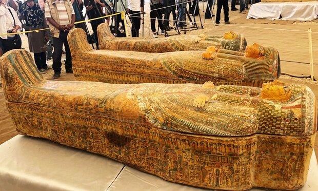 مصری ماہرین کا 3  ہزار سال پرانے تابوت دریافت کرنے کا دعوی