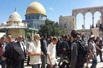 الاحتلال الصهيوني يغلق المسجد الأقصى ويعتقل شابين من داخله