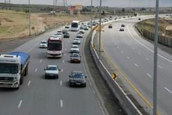 تردد روان در محورهای کرمانشاه /رانندگان احتیاط کنند