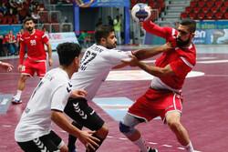 إيران تتعثر في المباراة الثانية أمام منتخب بحرين لكرة اليد