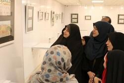 نمایشگاه نقاشی کودکان در قزوین بر پا شد