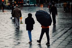 تشدید بارشها در اردبیل/ احتمال لغزندگی و اختلال در تردد