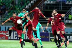 دیدار تیم های فوتبال ذوب آهن اصفهان و شهر خودرو مشهد