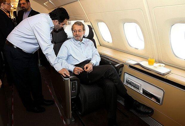 پرواز پرهزینه لاریجانی به بلگراد/ «شوآف» تبلیغاتی که گران تمام شد