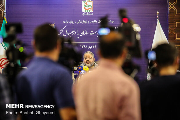نشست خبری رئیس سازمان پدافند غیرعامل